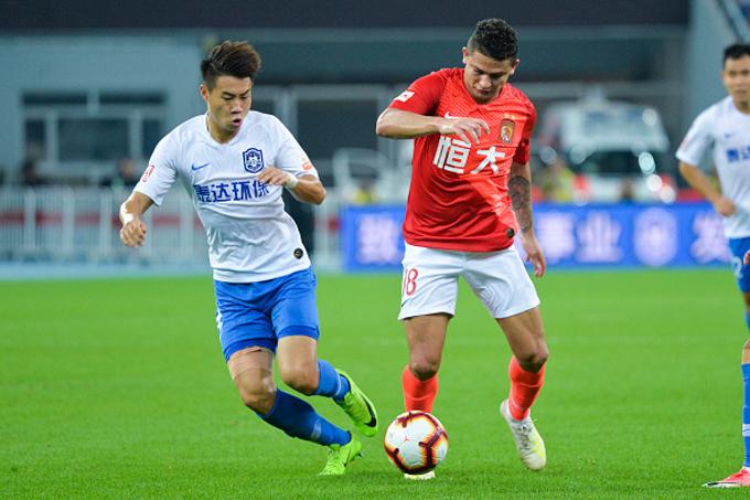 Trực tiếp bóng đá Guangzhou Evergrande vs Dalian Yifang, 19h ngày 16/7