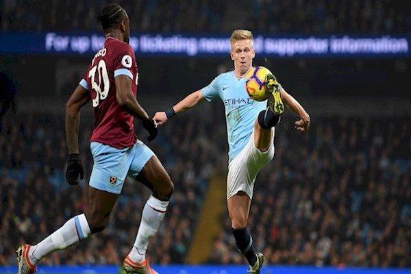 Trực tiếp bóng đá Man City vs West Ham, 19h30 ngày 17/7