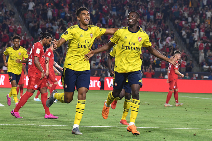 Arsenal 2-1 Bayern Munich (FT): Sao trẻ tỏa sáng, Pháo thủ thắng kịch tính