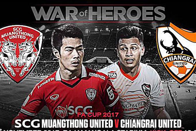 Trực tiếp bóng đá Muang Thong United vs Chiangrai United, 19h ngày 21/7