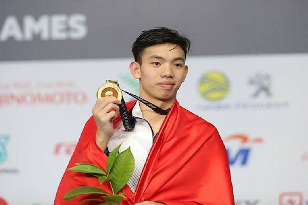 Kình ngư Nguyễn Huy Hoàng chính thức giành vé dự Olympic Tokyo 2020