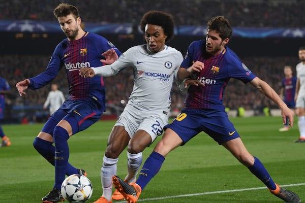 Xem bóng đá trực tuyến Barca vs Chelsea, 17h30 ngày 23/7