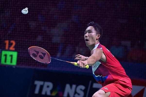 Trực tiếp kết quả cầu lông hôm nay 25/7: Kento Momota vào tứ kết Nhật Bản mở rộng