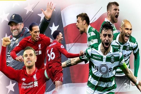 Link xem trực tiếp Liverpool vs Sporting Lisbon, 7h05 ngày 25/7