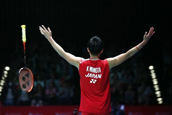 Kết quả cầu lông hôm nay 26/7: Kento Momota vào bán kết Nhật Bản mở rộng 2019