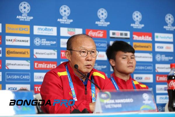VFF từ chối yêu cầu của HLV Park Hang-seo tại vòng loại World Cup 2022