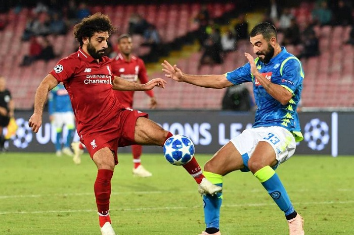 Trực tiếp Liverpool vs Napoli trên kênh nào?