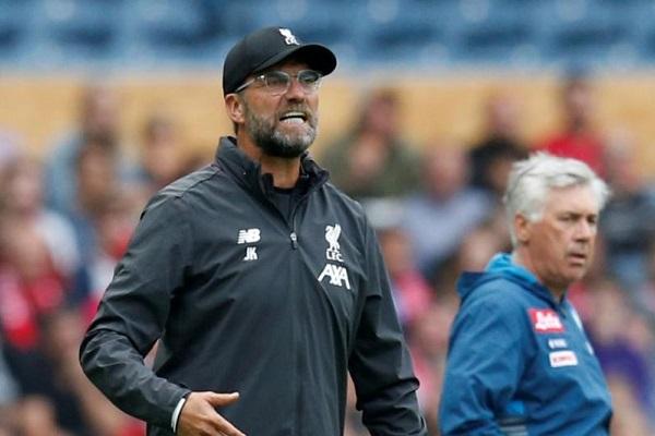 HLV Juergen Klopp phát hờn vì Liverpool lại thua