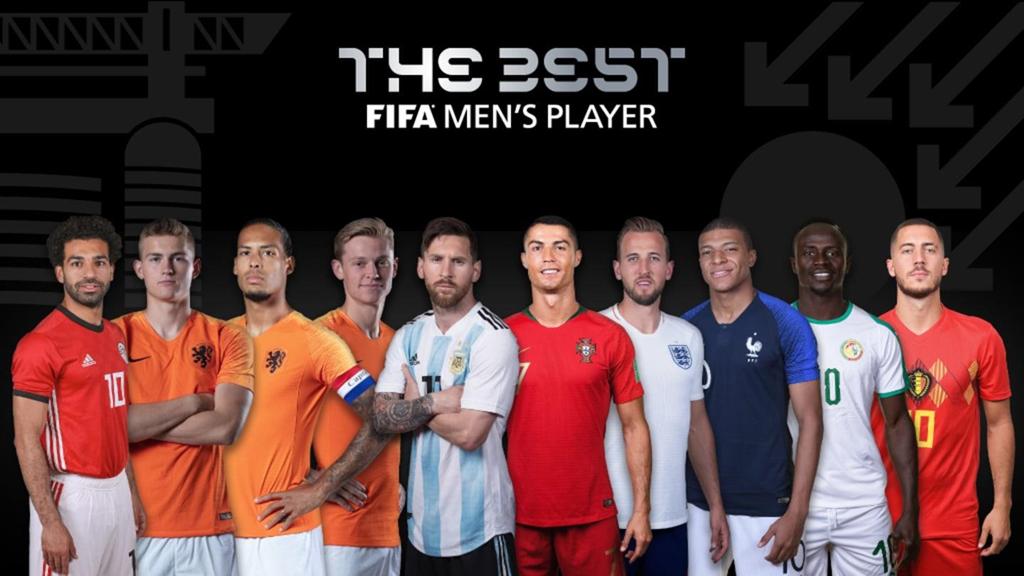 Top 10 FIFA The Best 2019: Cristiano Ronaldo đọ tài Virgil van Dijk