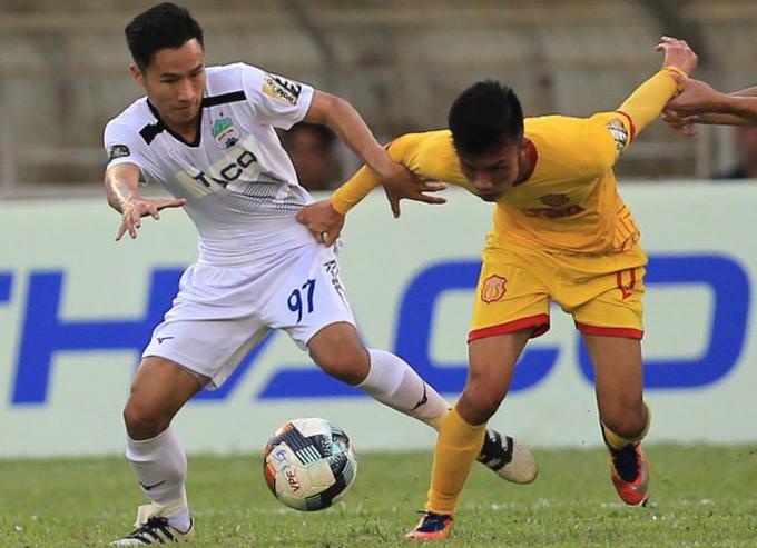 Trực tiếp Nam Định vs HAGL trên kênh nào?