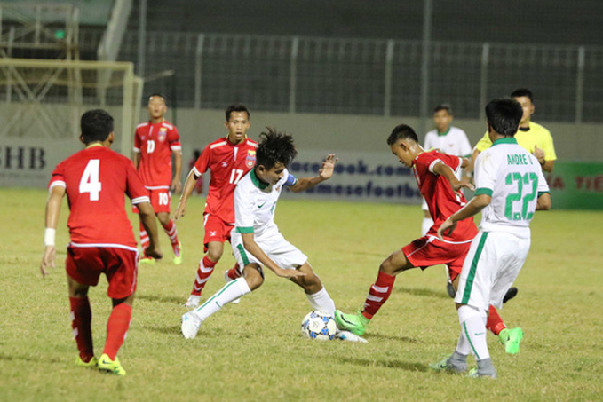 Link xem trực tiếp U15 Indonesia vs U15 Myanmar, 15h ngày 4/8