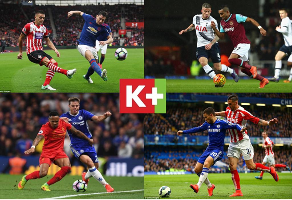 Bản quyền Ngoại hạng Anh 2019/2020: K+ độc quyền phát sóng toàn bộ 380 trận