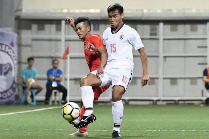 U18 Thái Lan 1-1 U18 Singapore: 'Voi chiến' ngã ngựa ngày ra quân
