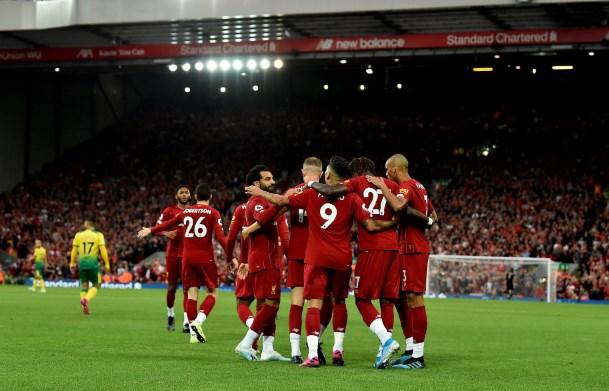 Liverpool 4-1 Norwich: Salah và Origi tỏa sáng giúp The Kop thắng đậm