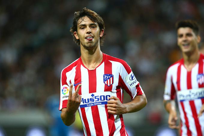 Atletico Madrid 2-1 Juventus: Joao Felix tỏa sáng trong ngày CR7 mờ nhạt