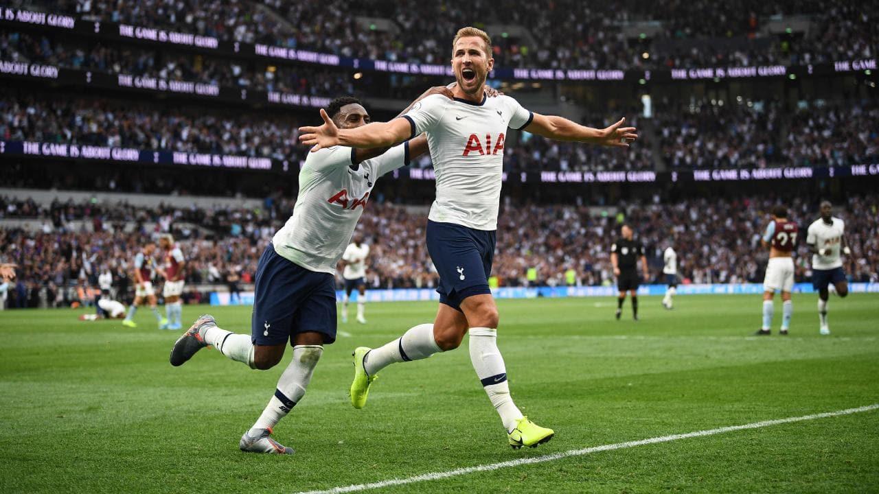 Tottenham 3-1 Aston Villa: Harry Kane tỏa sáng