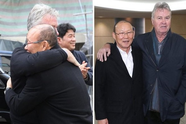 HLV Park Hang Seo trực tiếp đối đầu thầy cũ Guus Hiddink