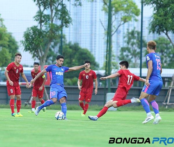 Trực tiếp U22 Việt Nam 0-0 Kitchee (HT): Áp đảo đối thủ