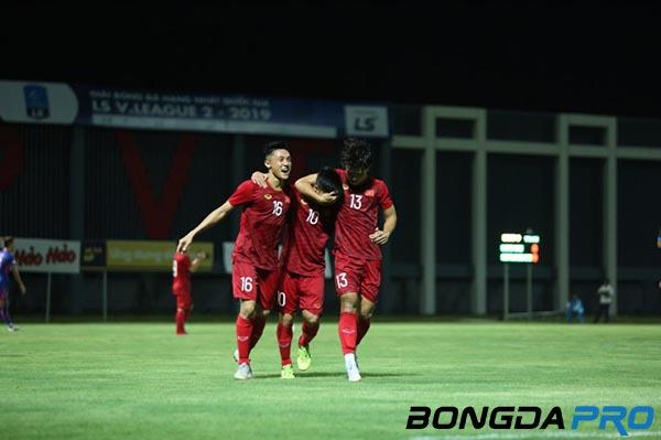 U22 Việt Nam 2-0 Kitchee: Martin Lo tỏa sáng, U22 VN đả bại 'ông lớn' Hồng Kông