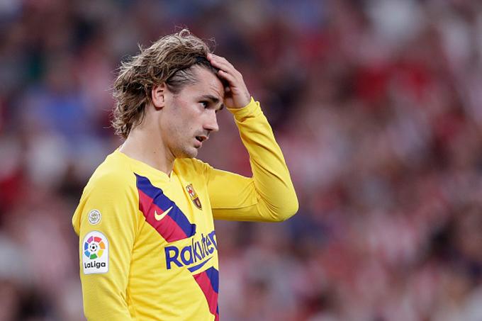 HLV Valverde khiển trách Griezmann trong trận thua của Barca