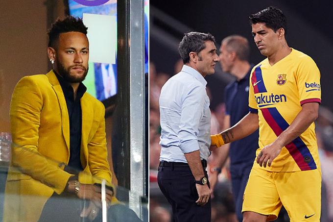 Suarez chấn thương, Barca tức tốc đón bằng được Neymar