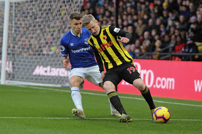 Trực tiếp Everton vs Watford kênh nào?
