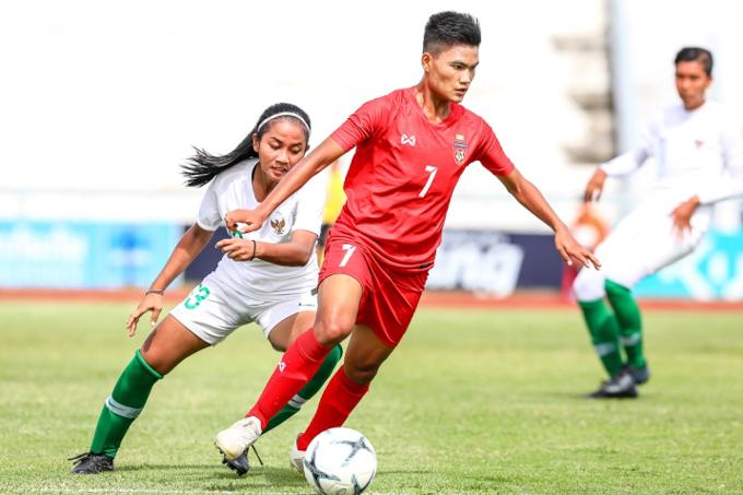 Trực tiếp nữ Campuchia vs nữ Myanmar: Thêm một thất bại