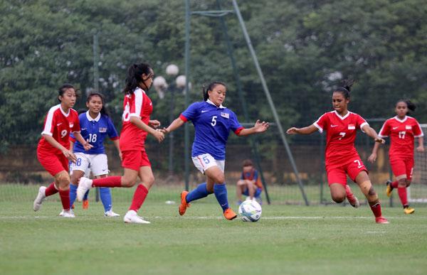 Trực tiếp nữ Malaysia vs nữ Singapore: Níu kéo hi vọng