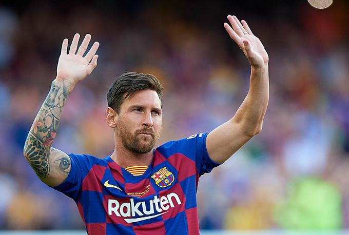 Lionel Messi báo tin vui cho Barca trước vòng 2 La Liga