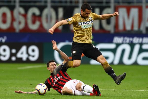 Nhận định Udinese vs AC Milan:  Khách khó giành điểm