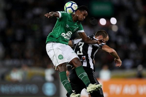 Botafogo 0-0 Chapecoense: Thất vọng đội chủ nhà