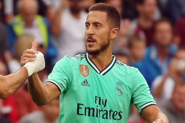 Hazard bình phục chấn thương, chờ ngày ra mắt Real Madrid