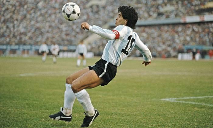 Diego Maradona được đặt tên cho giải bóng đá số 1 Argentina