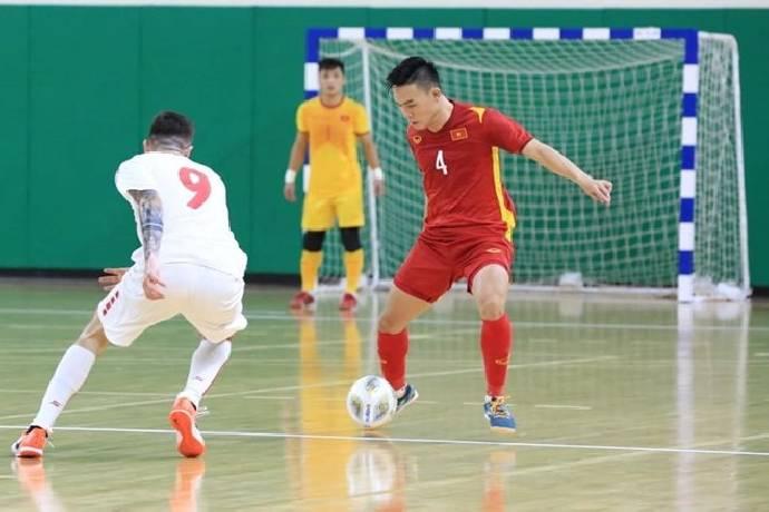 Link xem trực tiếp Futsal Việt Nam vs Lebanon trên kênh nào?