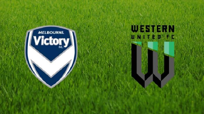 Trực tiếp bóng đá Úc: Melbourne Victory vs Western United
