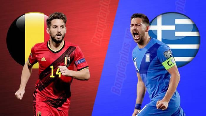 Link xem trực tiếp bóng đá Bỉ vs Hy Lạp tối nay trên kênh nào?