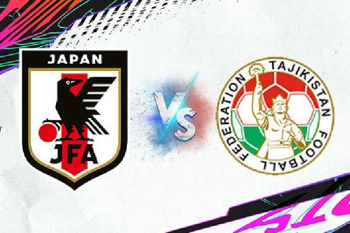 Link xem trực tiếp Nhật Bản vs Tajikistan hôm nay trên kênh nào?