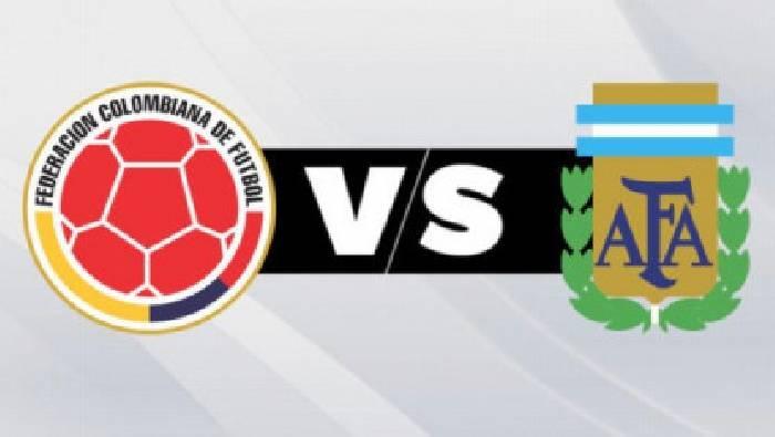 Link xem trực tiếp Colombia vs Argentina hôm nay trên kênh nào?