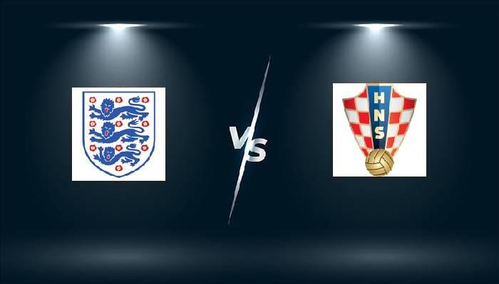 Link xem trực tiếp Anh vs Croatia hôm nay trên kênh nào?