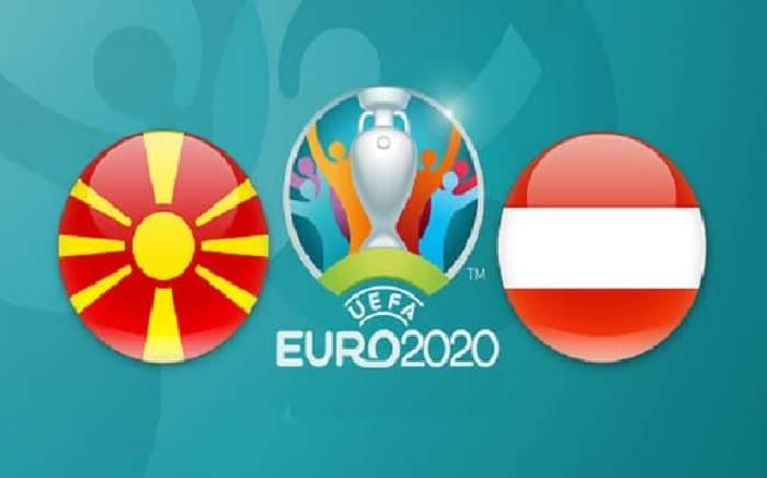 Link xem trực tiếp Áo vs Bắc Macedonia hôm nay trên kênh nào?