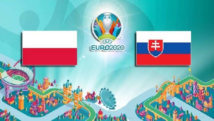 Danh sách đội hình ra sân dự kiến Ba Lan vs Slovakia tối nay 14/6