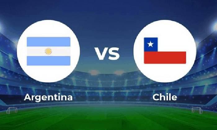 Link xem trực tiếp Argentina vs Chile rạng sáng nay ngày 15/06