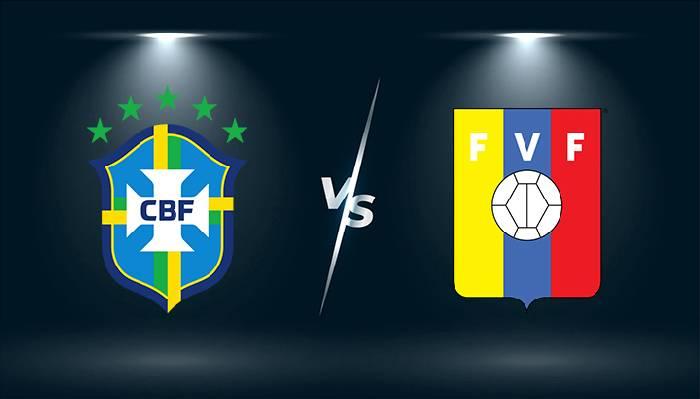 Link xem trực tiếp Brazil vs Venezuela hôm nay trên kênh nào?