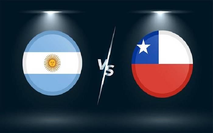 Tỷ lệ kèo nhà cái trận Argentina vs Chile hôm nay ngày 15/6