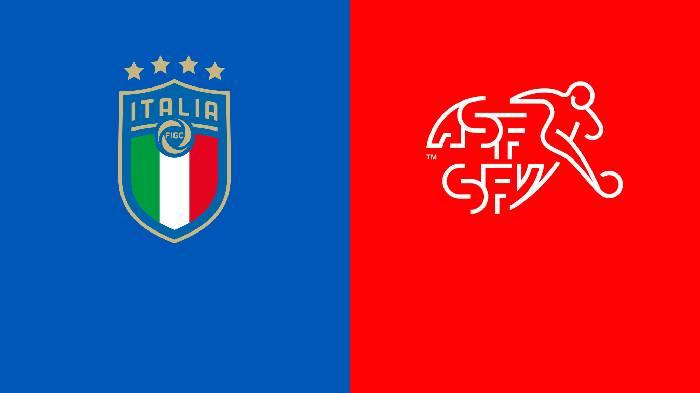Link xem trực tiếp Italia vs Thụy Sĩ hôm nay trên kênh nào?