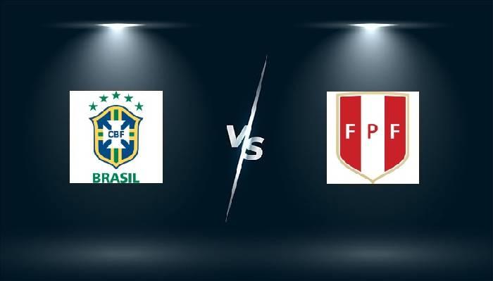 Tỷ lệ kèo bóng đá Brazil vs Peru hôm nay lúc 07h00 ngày 18/06
