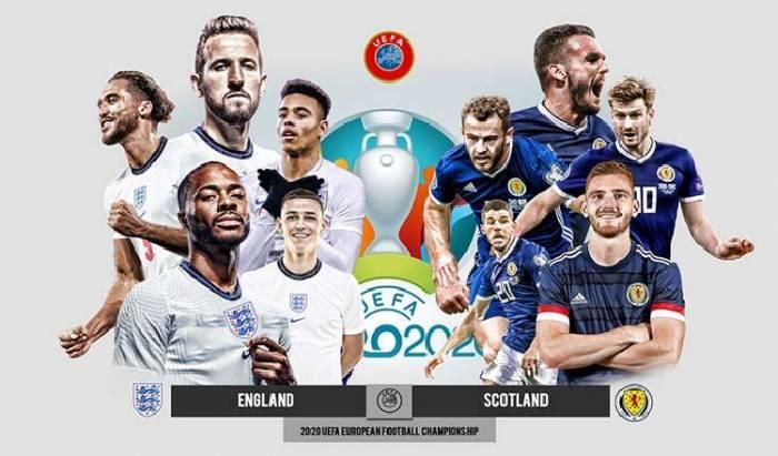 Link xem trực tiếp Anh vs Scotland hôm nay 19/06 trên kênh nào?