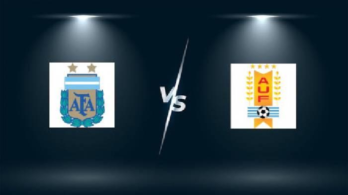 Tỷ lệ kèo cá cược nhà cái Argentina vs Uruguay hôm nay ngày 19/6