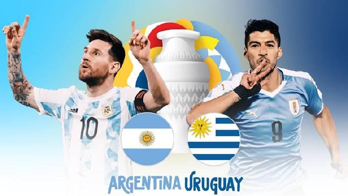 Link xem trực tiếp Argentina vs Uruguay hôm nay 19/06 kênh nào?