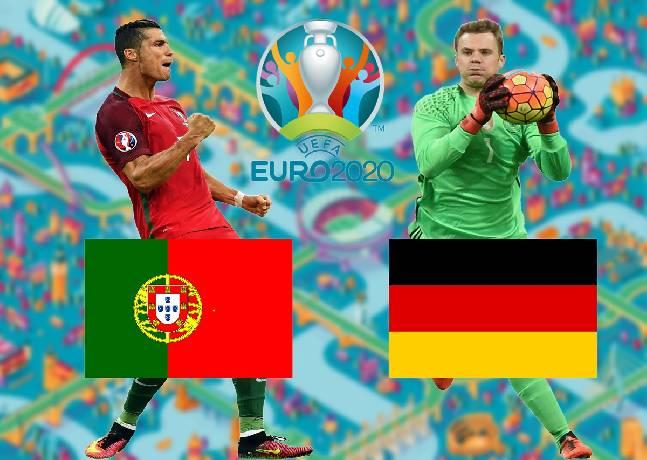 Tỷ lệ kèo nhà cái Bồ Đào Nha vs Đức hôm nay Euro 2021 lúc 11h00